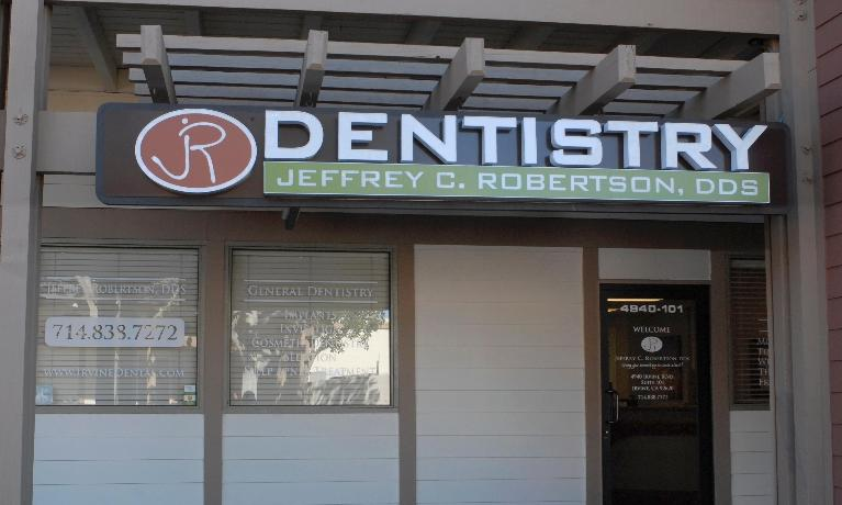 front entrance Irvine Dental | irvine ca dentist